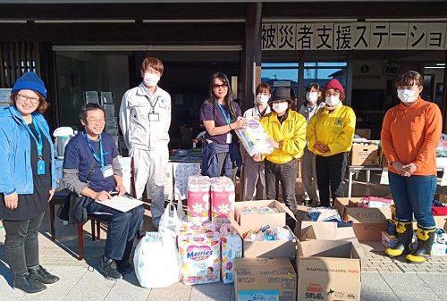 台風被害者の越冬支援開始!