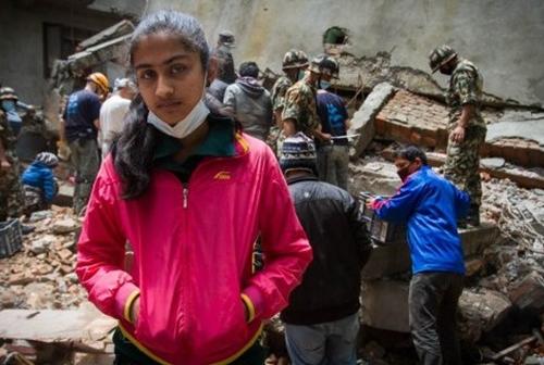 ネパール緊急支援