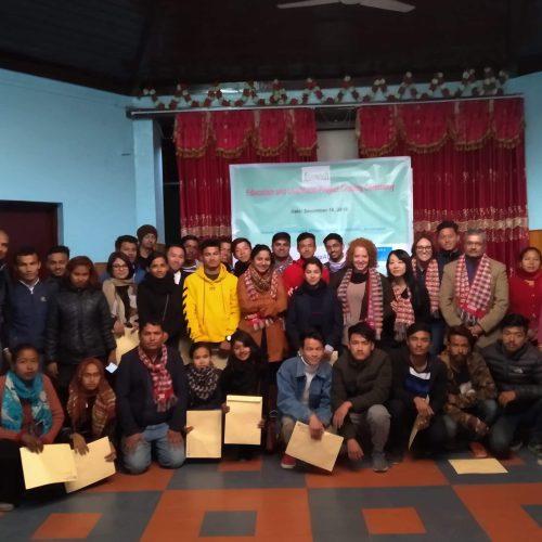 ネパール震災遺児 教育・生計向上プロジェクト(2016年11月〜2018年10月)