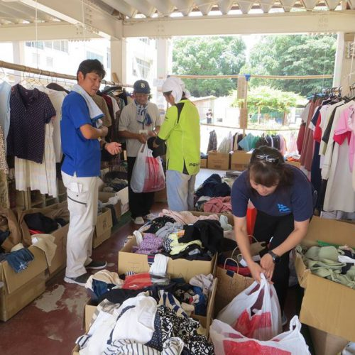 岡山県での緊急物資支援と心理社会的支援の実施(岡山県倉敷市、総社市など)(2018年7月〜2020年1月)