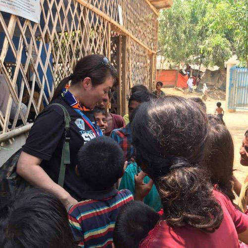 バングラデシュ コックスバザール県におけるミャンマー避難民への女性グループ支援および緊急医療支援(2019年5月〜2019年10月)